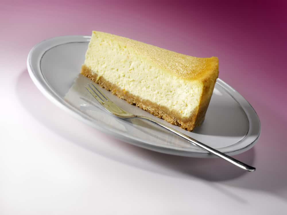 Cheesecake řez