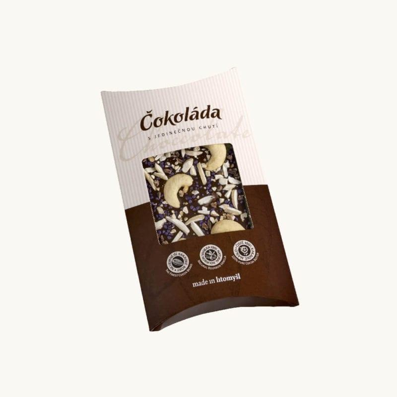 Hořká sypaná čokoláda
